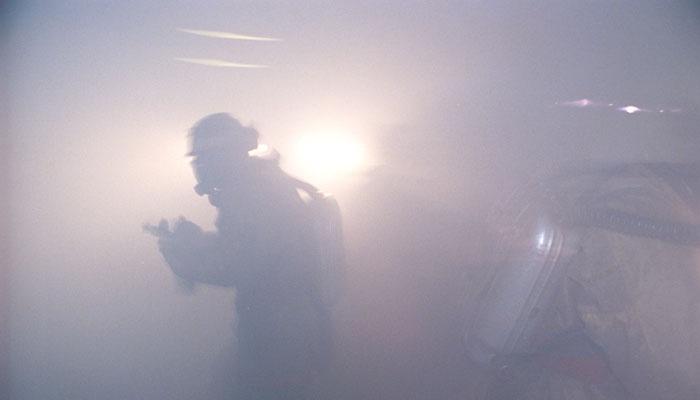 В Центральном парке Владикавказа произошел пожар