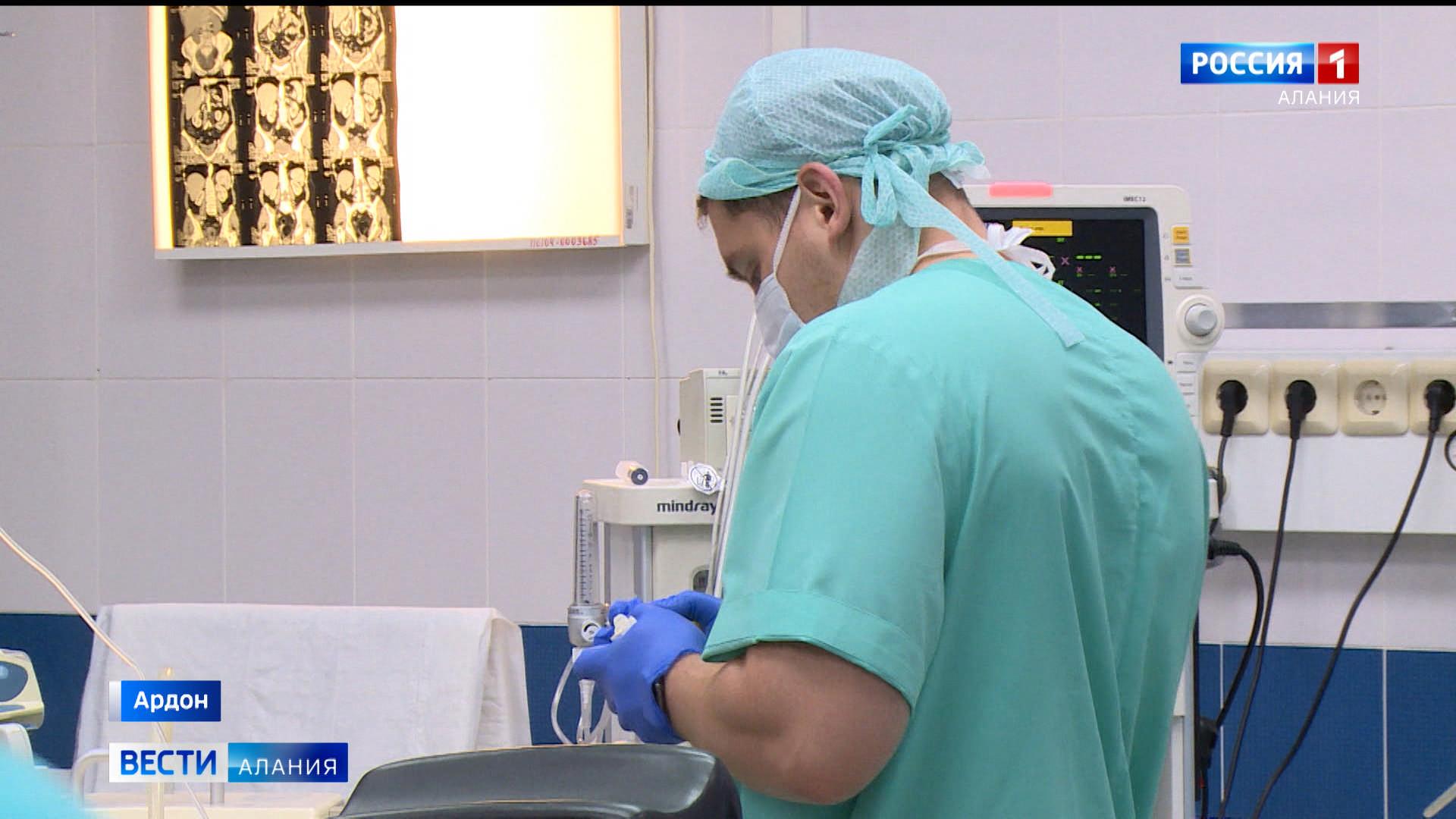 В Ардонской ЦРБ впервые провели лапароскопическую операцию