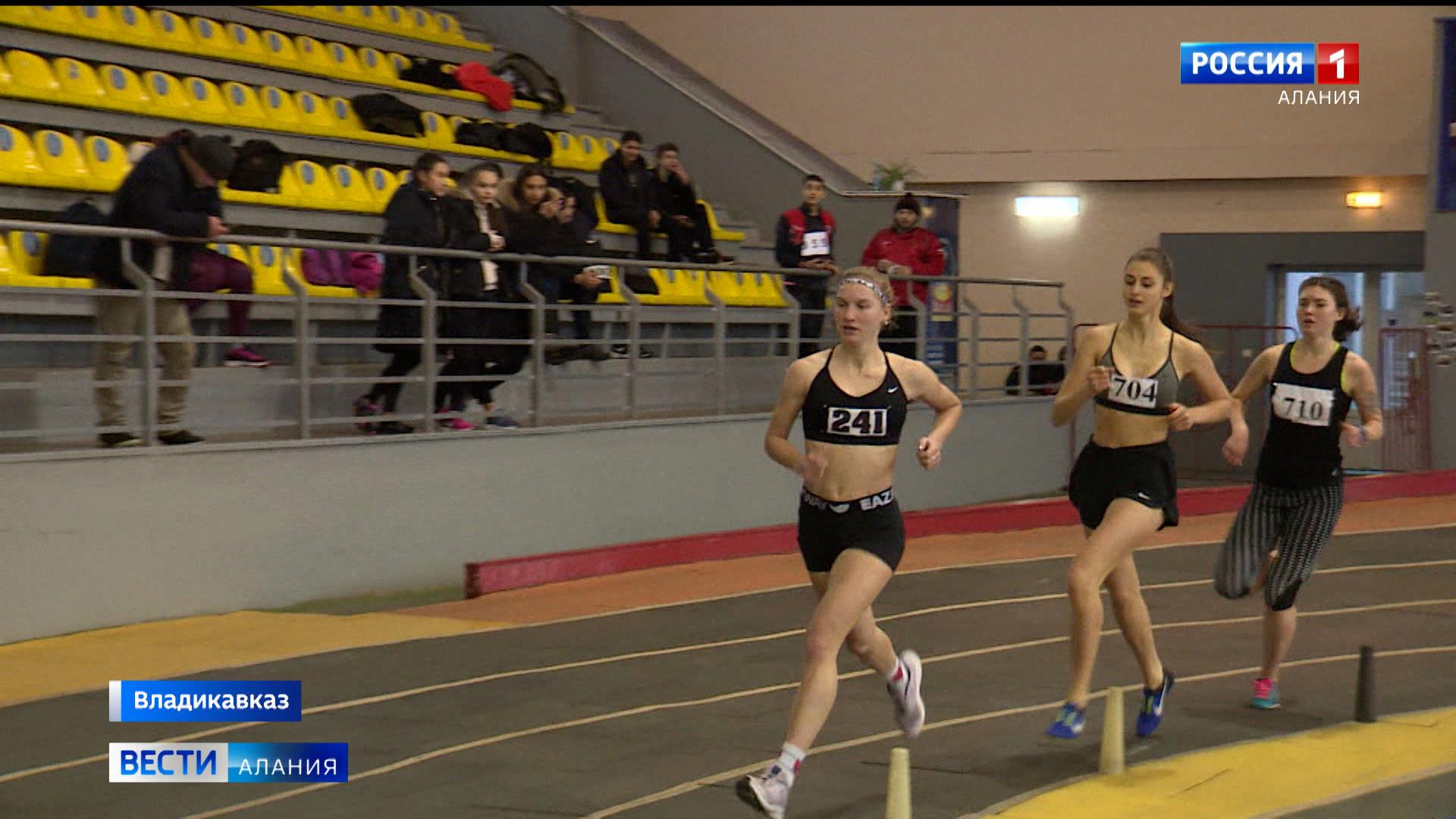 В Северной Осетии проходят чемпионат и первенство СКФО по легкой атлетике