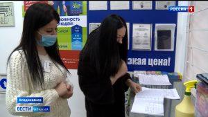 Роспотребнадзор продолжает проверять соблюдение противоэпидемических требований в торговых точках Северной Осетии