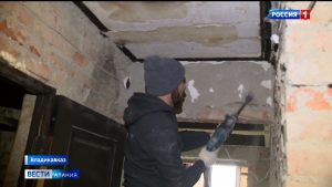 Неравнодушные люди помогают многодетной семье Цомартовых делать ремонт в сгоревшей квартире