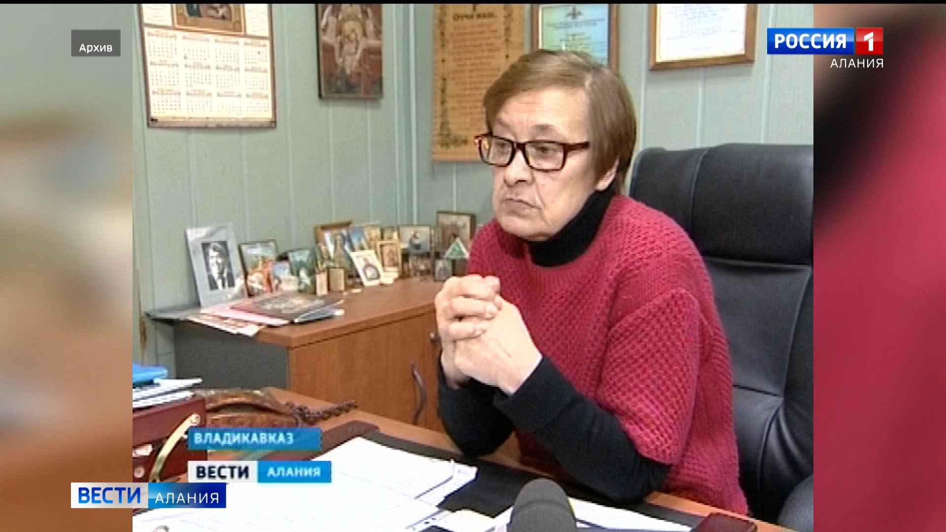 Заслуженный журналист Северной и Южной Осетии Ирина Таболова отмечает юбилей