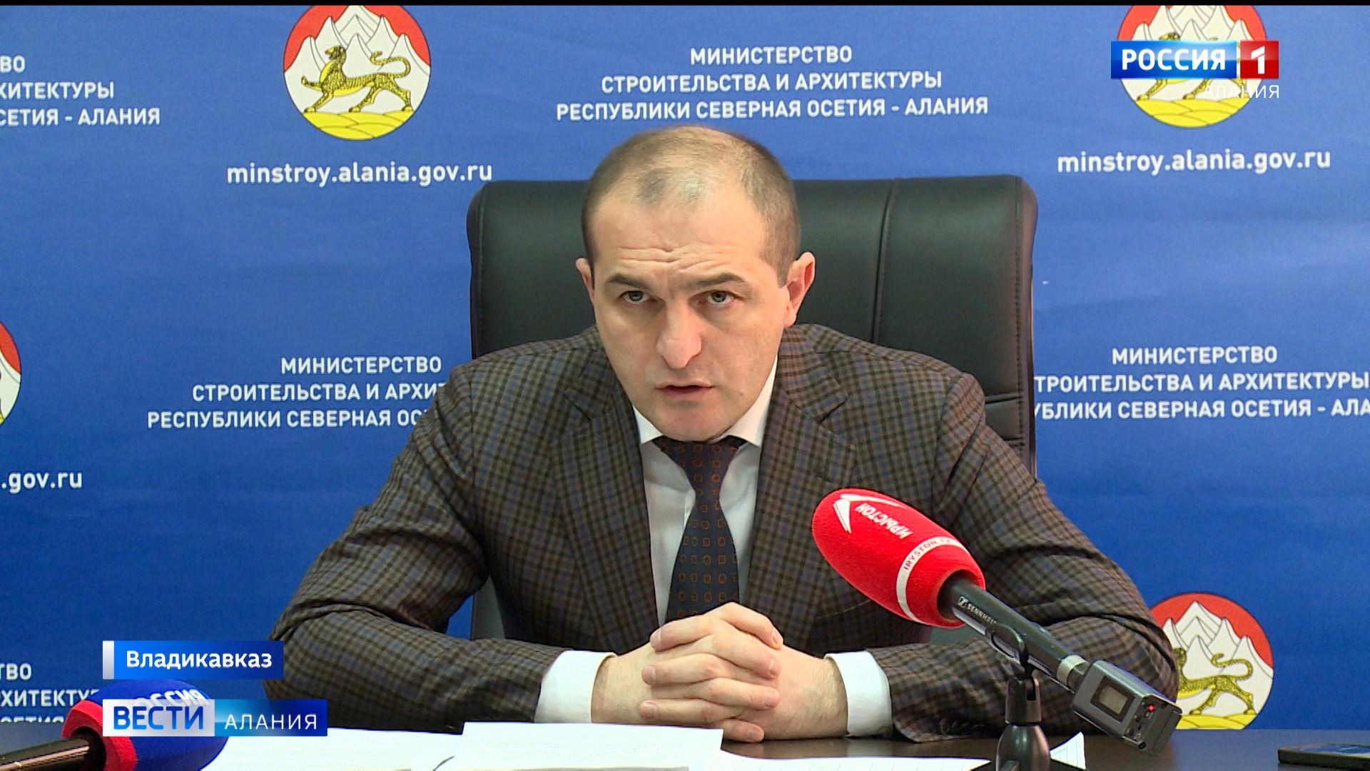 Глава Минстроя Артур Тотиков рассказал о планах по строительству и реконструкции объектов в 2021 году