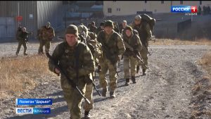 Разведчики ЮВО приступили к горной подготовке на полигоне «Дарьял»