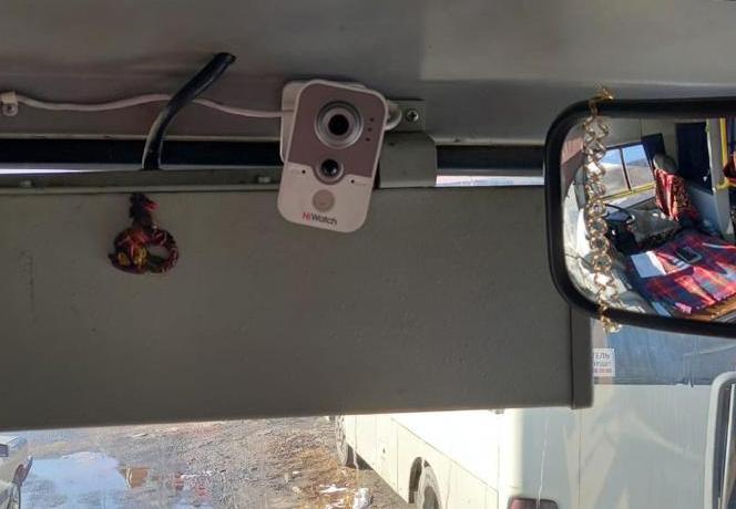 В Северной Осетии оснастили 15 автобусов приборами видеофиксации