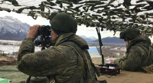 Российские военные впервые применили квадрокоптеры в горах Южной Осетии