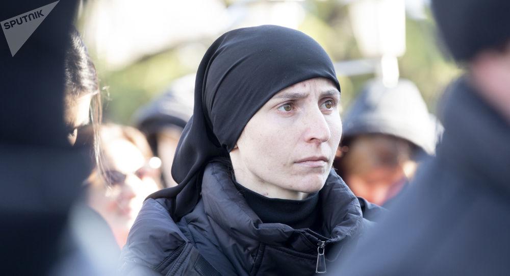 Семья Инала Джабиева решила прекратить акцию на площади в Цхинвале