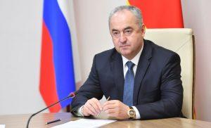 Таймураз Тускаев провел рабочую встречу с руководителем Минспорта Аланом Хугаевым