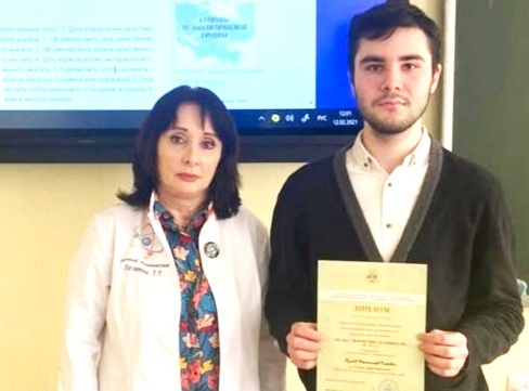 Студент ВТЭТ стал победителем всероссийского конкурса