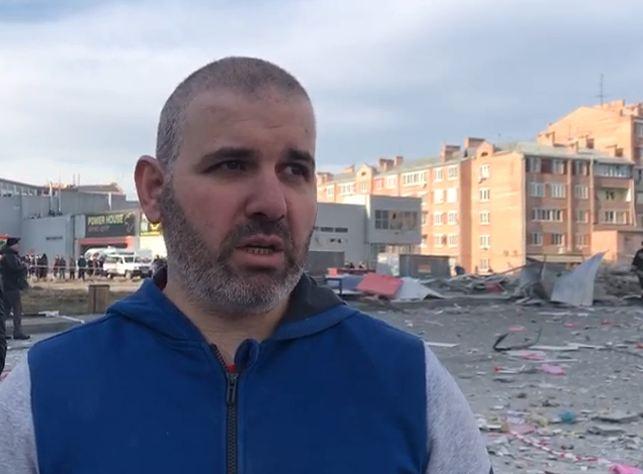 Выживший при взрыве во Владикавказе: Потолок упал, стал выбираться в сторону света
