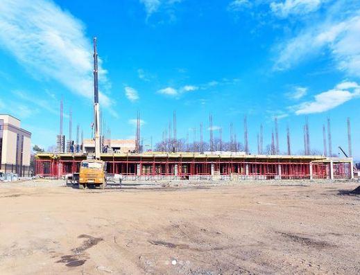 Во Владикавказе продолжается строительство нового комплекса военного госпиталя ЮВО
