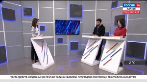 Россия 24. Развитие тенниса в Северной Осетии