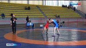 На чемпионате СКФО по вольной борьбе определились первые финалисты