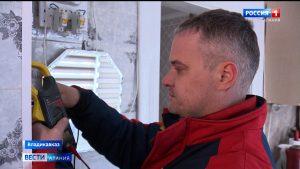 Энергетики повысили качество электроснабжения на улице Студенческой во Владикавказе