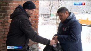 50 малоимущих семей и пенсионеров получили помощь в рамках акции «Мы вместе»