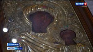 Православные отметили праздник Иверской иконы Божией Матери
