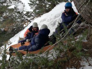 На Транскаме прошли учения спасателей