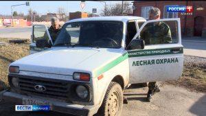 Сотрудники лесоохраны призывают жителей республики не поджигать сухую траву