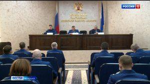 В прокуратуре Северной Осетии подвели итоги работы за прошлый год