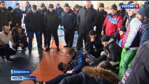 В Северной Осетии проходит семинар судей по спортивной борьбе