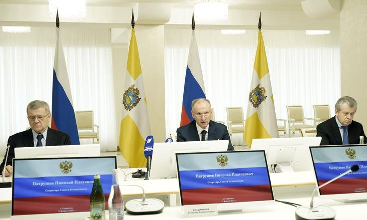 Юрий Чайка принял участие в совещании Совбеза России по вопросам национальной безопасности в СКФО