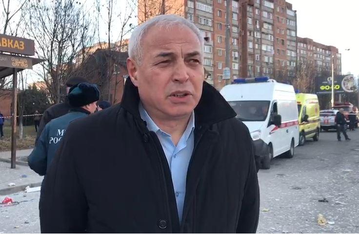 Ирбек Томаев: спасатели нашли одного человека, он не пострадал