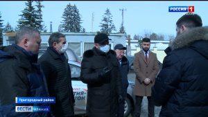 Таймураз Тускаев продолжает следить за ходом строительства и реконструкции социально значимых объектов