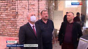 Таймураз Тускаев совершил очередную инспекционную поездку по строящимся объектам