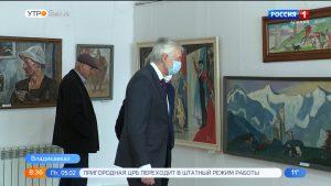 В Союзе художников Северной Осетии открылась выставка Народного художника РСО-А Жоржа Гасинова