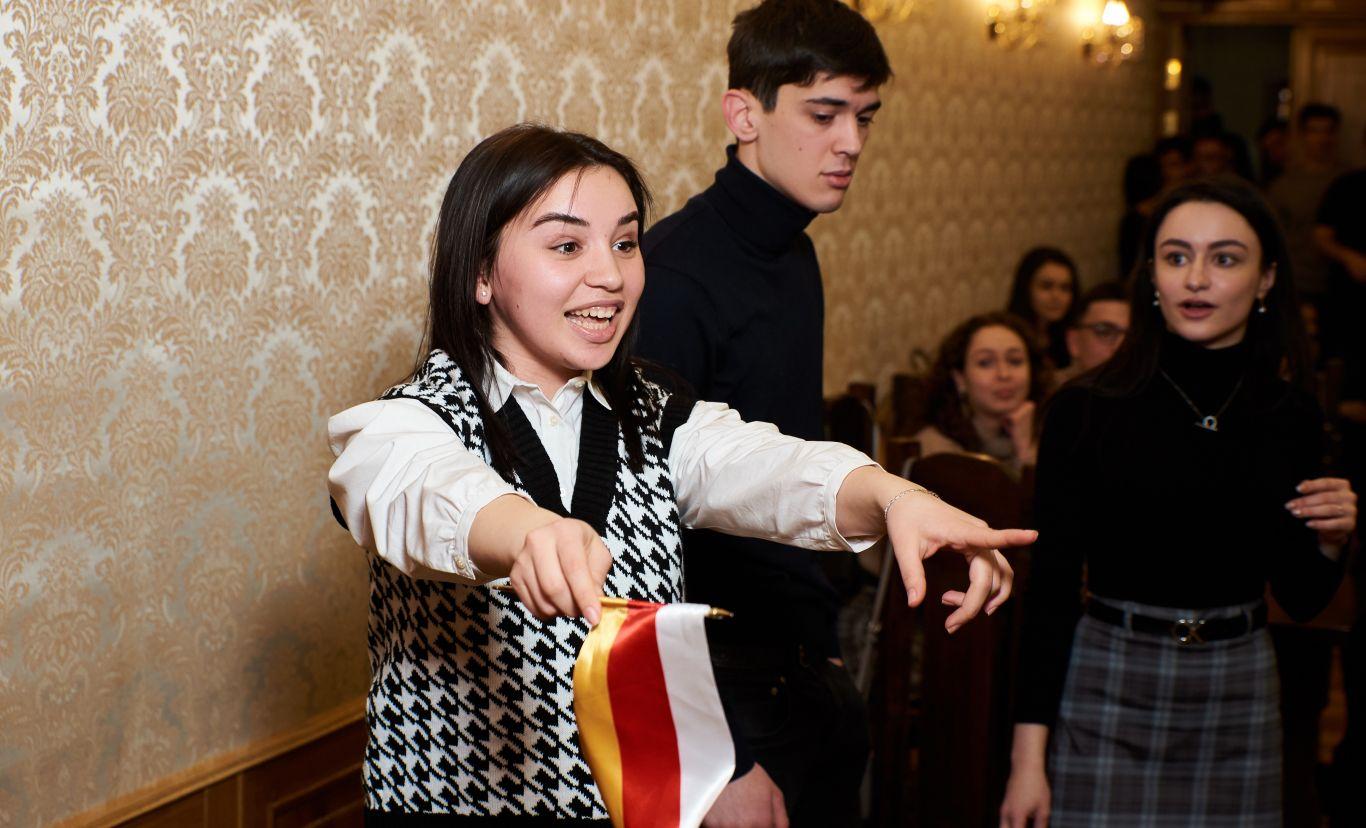 Первый этап Х Универсиады среди московских студентов состоялся в Постпредстве Северной Осетии
