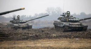 Тактические учения российских мотострелков и танкистов начались в Южной Осетии