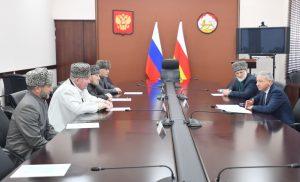 Вячеслав Битаров встретился с муфтиями регионов Северного Кавказа и Республики Калмыкия