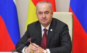 Таймураз Тускаев провел рабочую встречу с главой АМС Алагирского района Арсеном Бутаевым
