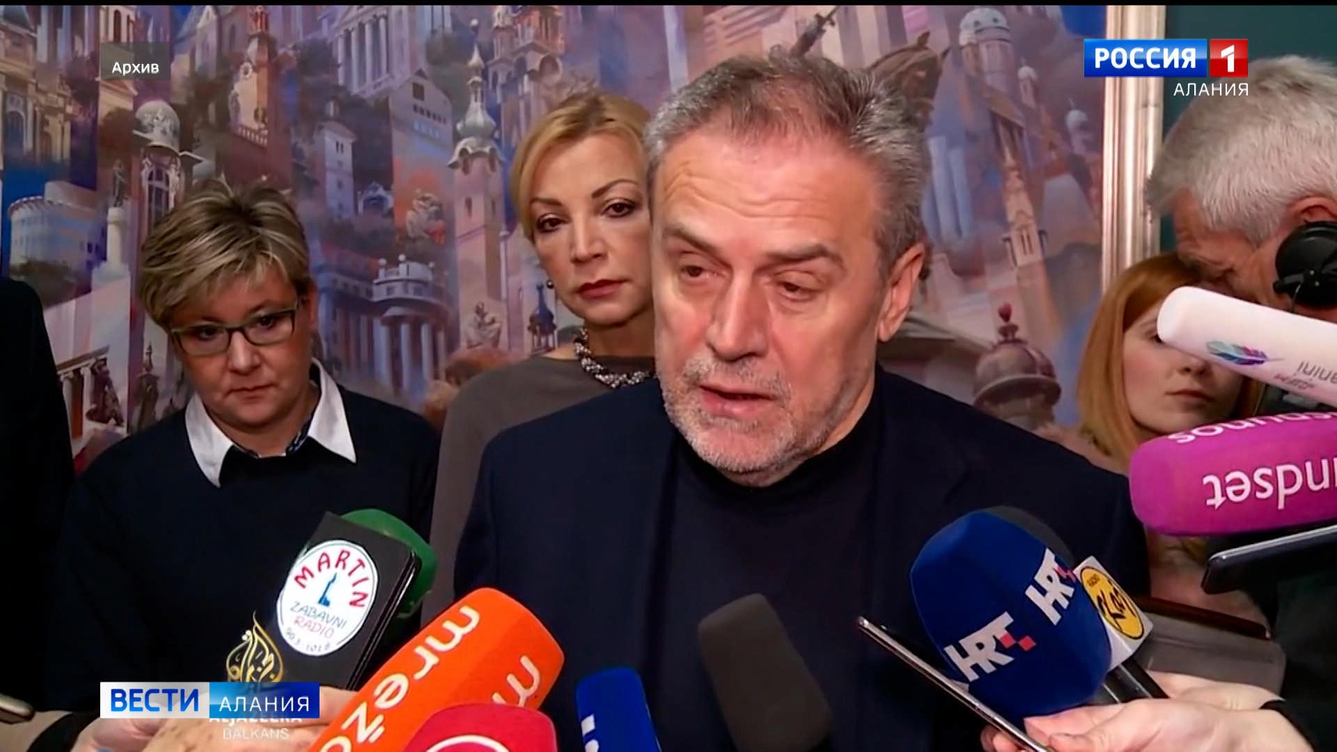 Ушел из жизни мэр Загреба Милан Бандич