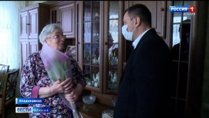 В преддверии 8 Марта «Единая Россия» поздравила представительниц старшего поколения