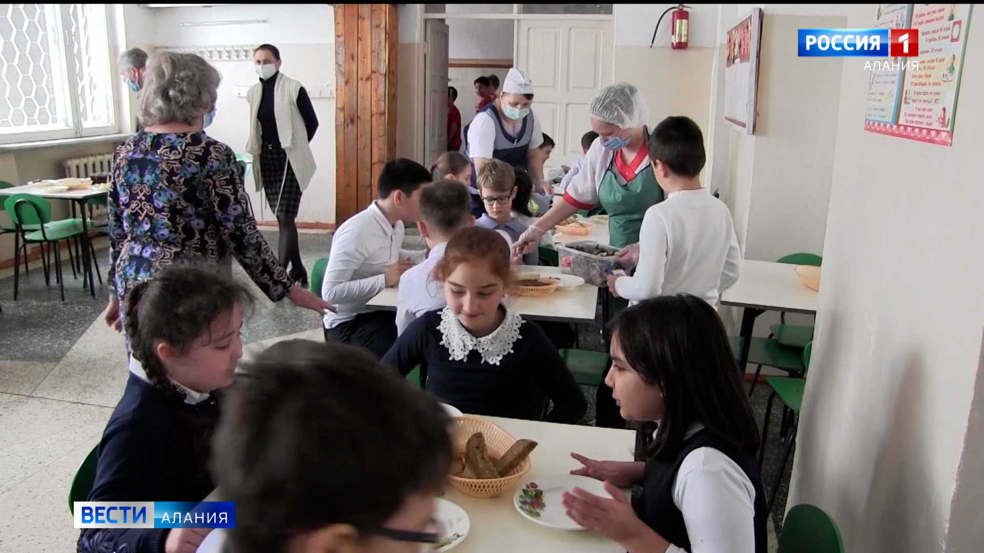 Активисты ОНФ выявили недостатки в организации системы горячего питания в двух школах Моздока