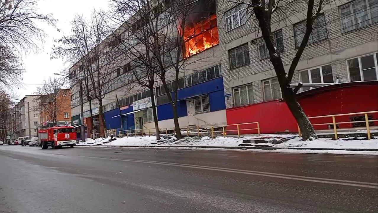 Во Владикавказе произошел пожар в здании общества слепых