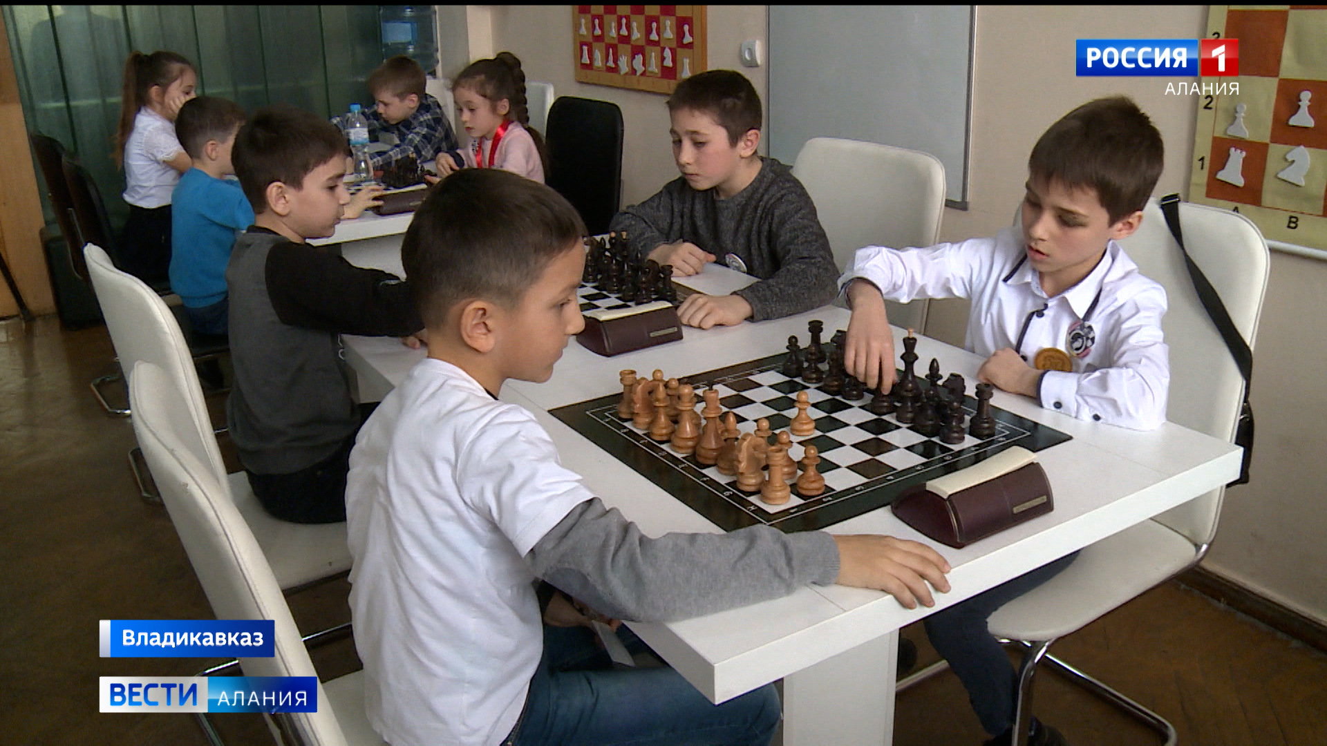 Во Владикавказе стартовал республиканский шахматный фестиваль