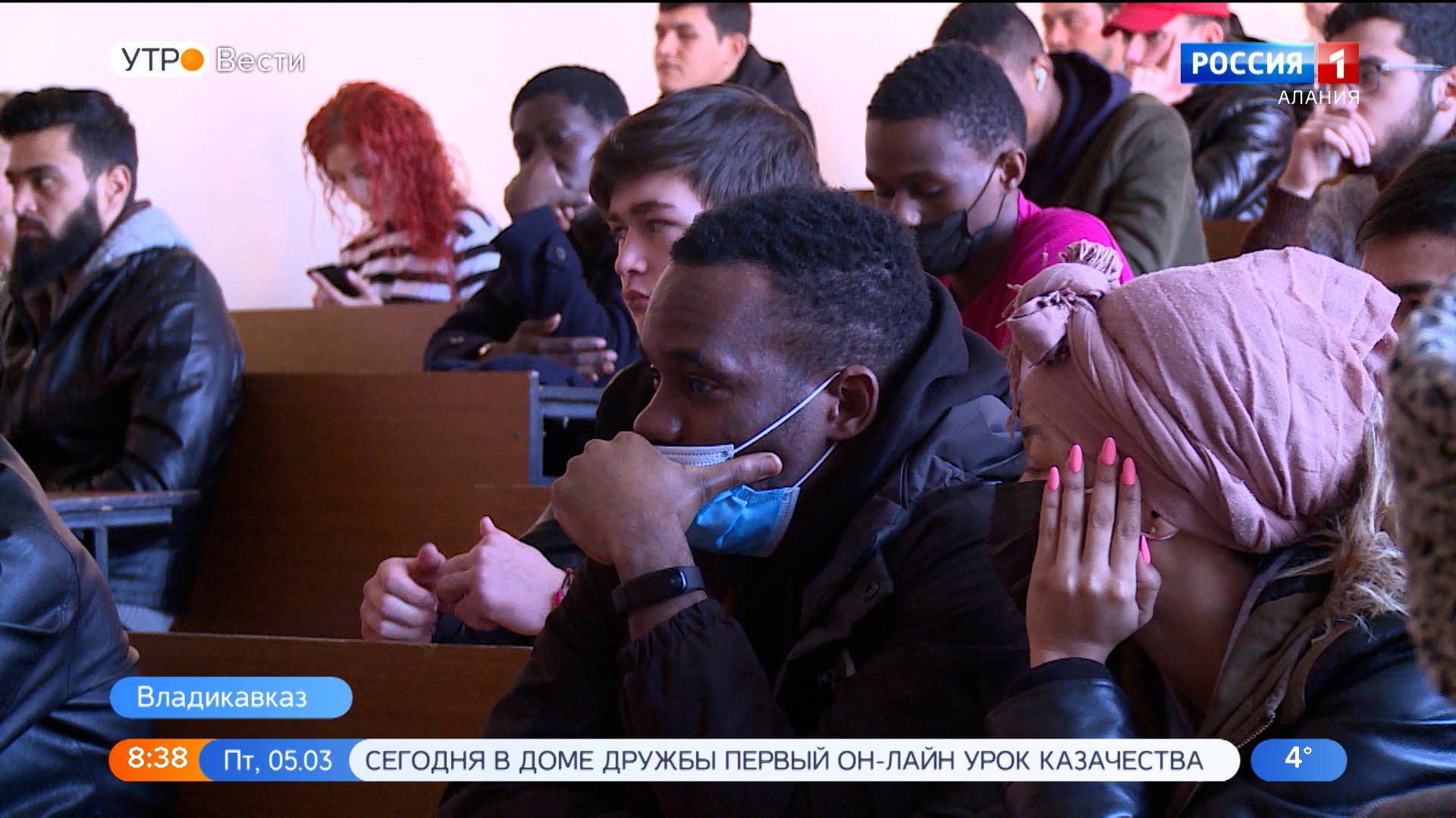 В ГМИ прошла лекция по противодействию идеологии терроризма в образовательной сфере и молодежной среде