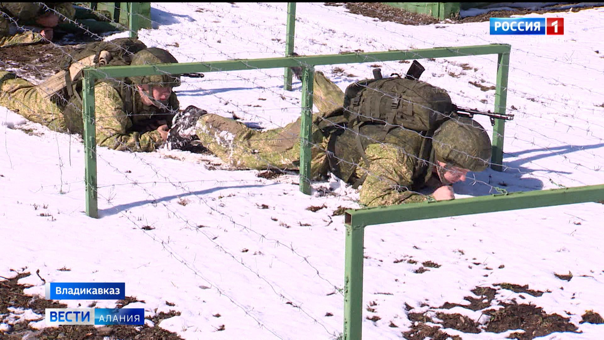 В Северной Осетии прошли учения военных медиков