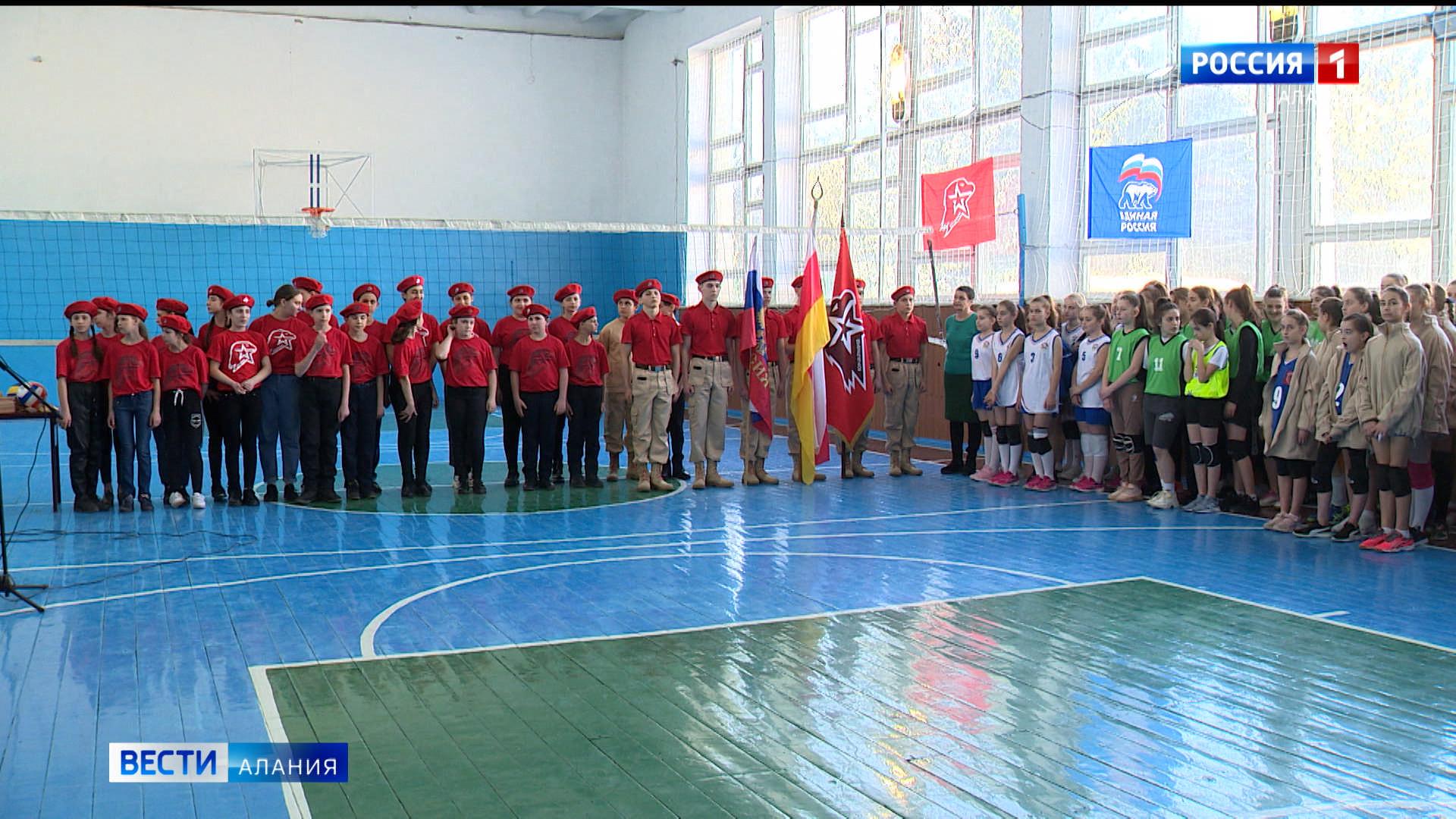 В Октябрьском стартовали военно-спортивные игры Пригородного района