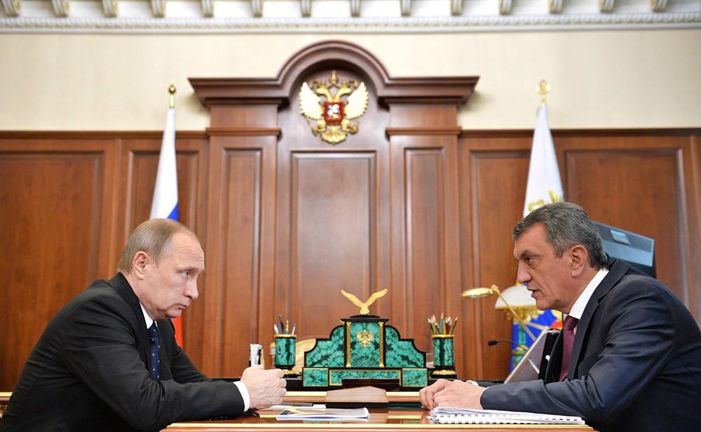 Путин предложил Сергею Меняйло стать врио главы Северной Осетии