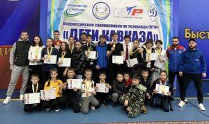 Сборная Северной Осетии по тхэквондо завоевала 27 медалей на соревнованиях «Дети Кавказа»