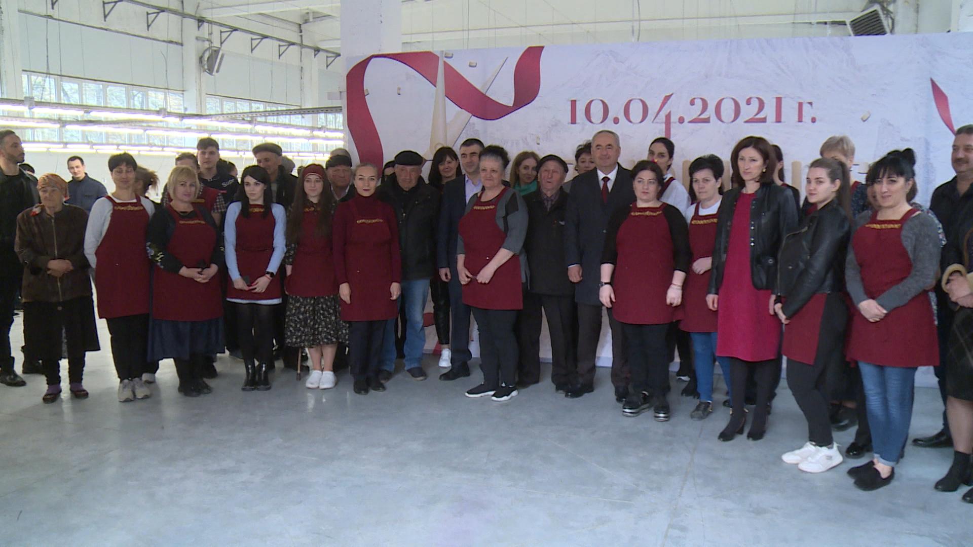 В Мизуре открылась швейная фабрика
