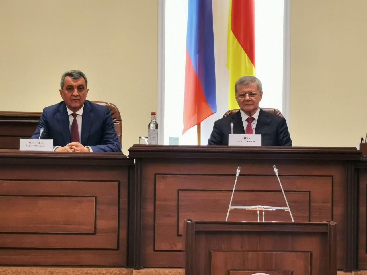 Врио главы Северной Осетии Сергея Меняйло официально представили в регионе