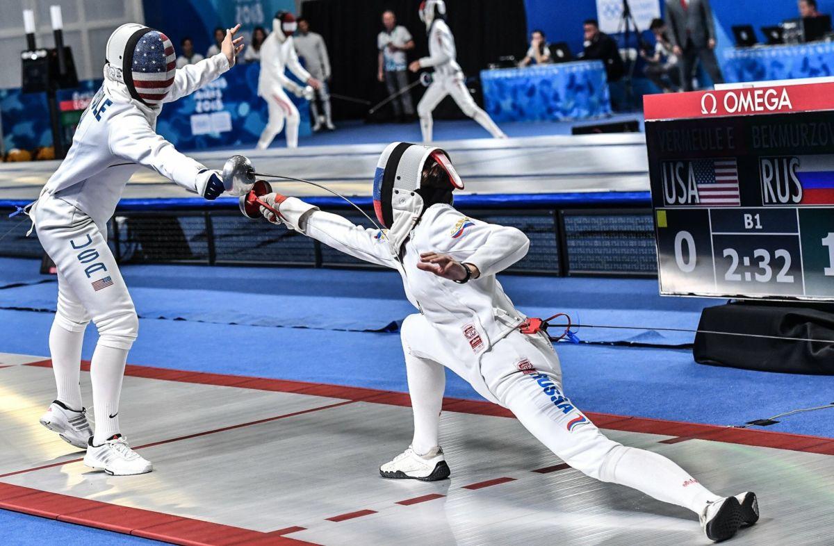 Шпажистка Яна Бекмурзова стала чемпионкой мира в составе сборной России