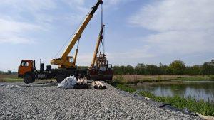 Стартовал основной этап расчистски озера Бекан