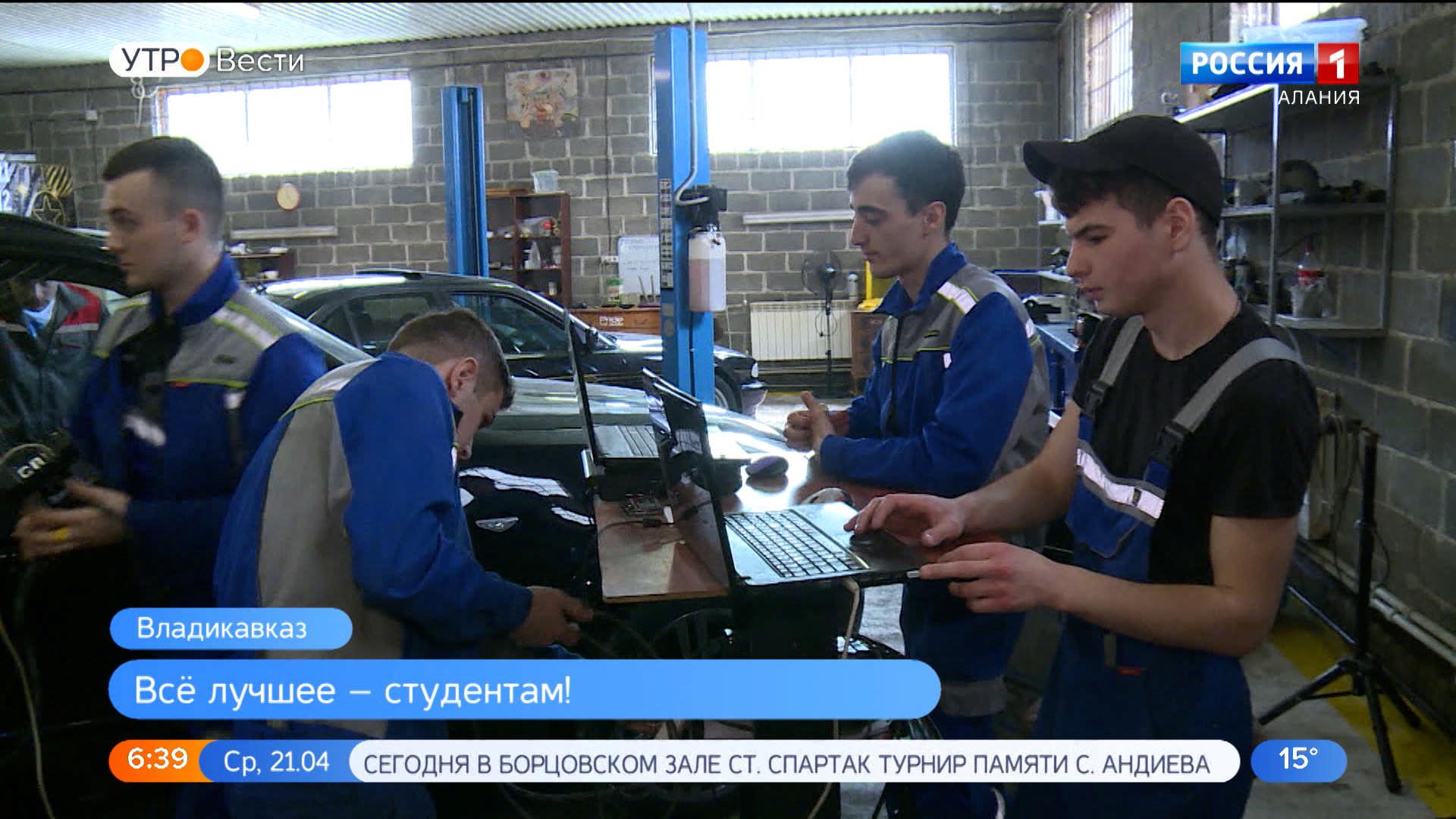 Предприниматель подарил ГМТ помещение и оборудование для занятий будущих автомехаников