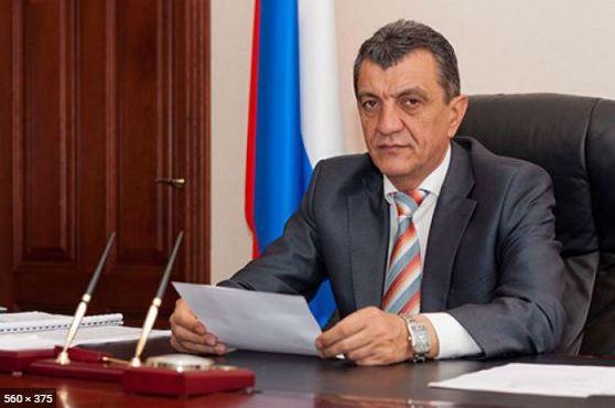 Сергей Меняйло назначен врио главы Северной Осетии