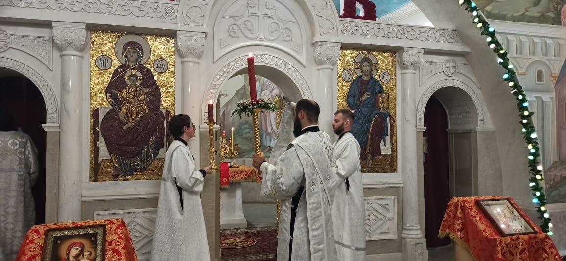 В храмах Северной Осетии прошли пасхальные богослужения